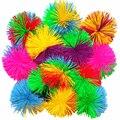 8 см Новинка Радужный смешанный Koosh мягкий мячик сенсорная игрушка-Непоседа для аутизма профессиональная игрушка для снятия стресса Забавная детская антистрессовая игрушка - фото