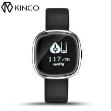 P2 0.95 дюймов OLED Приборы для измерения артериального давления сердечного ритма Мониторы шагомер калорий Фитнес трекер Смарт часы браслет для IOS Android