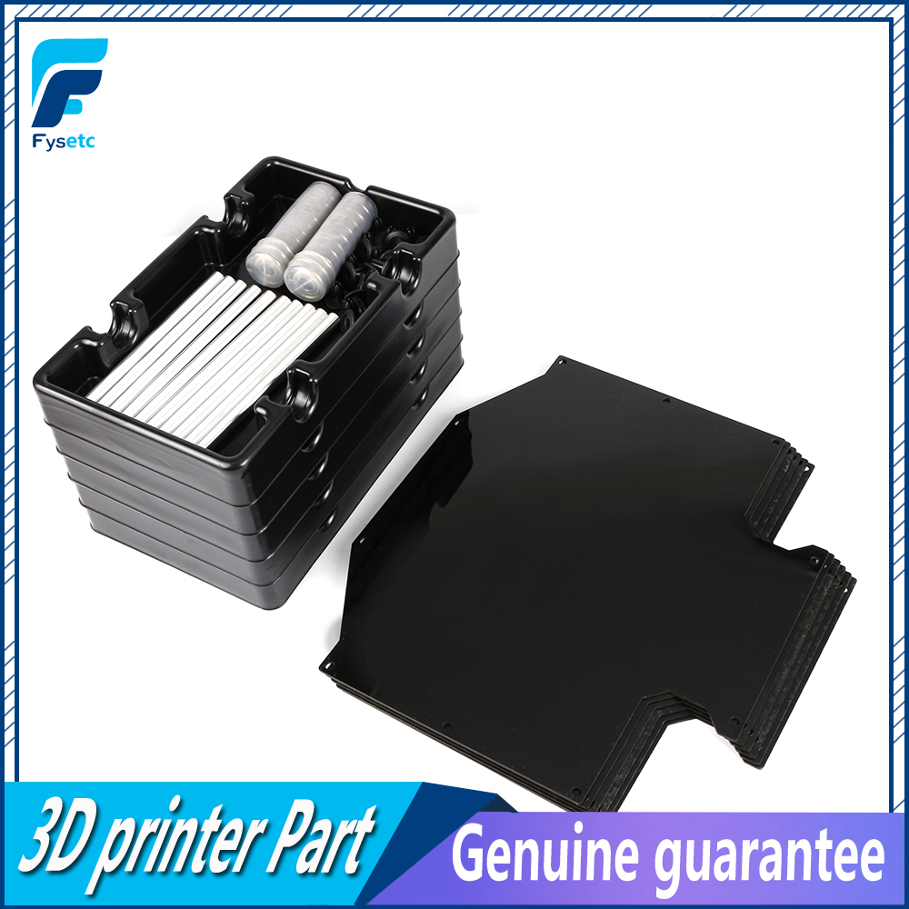 Dla Prusa i3 MK2.5S MK3S MMU2S Multi materiał 2S 6 sztuk bufor żarnika + 5 sztuk szpula na FILAMENT posiadacze dostarcza materiał wieszak z tacką w Części i akcesoria do drukarek 3D od Komputer i biuro na
