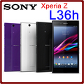 L36H Original Unlocked Sony Xperia Z C6603 13.1MP 2330mAh 16GB ROM 2GB RAM 5.0 Touchscreen Refurbished Smartphone Free Shipping