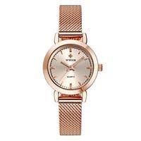 Genuine Lady's Fine Steel Mesh Quartz Watch Night light Waterproof Watch Women's Watch