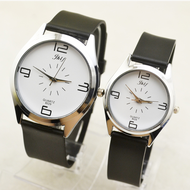 Lovers watch, a pair of men and women, Korean version of ultra-thin fashion tren