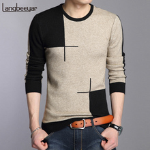 2019 New Autumn Winter Brand Clothing Sweater Men Fashion Breathable Slim Fit Winter Pullover Men O Neck Knitted Sweater Men