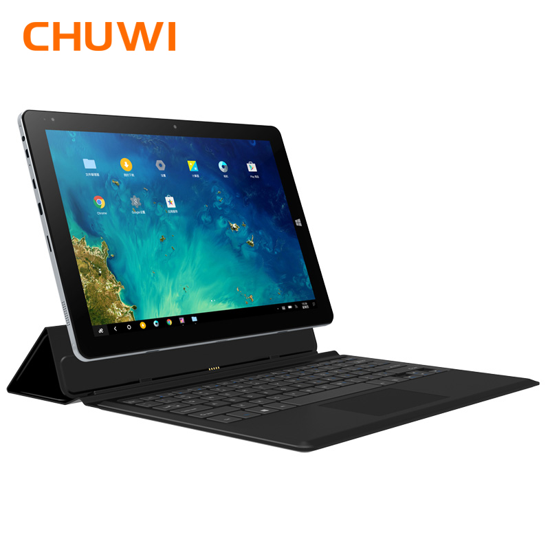 CHUWI Hi10 Plus 10.8 pouce Tablet PC Windows 10 Android 5.1 Intel Atom Z8350 Quad Core 4 gb RAM 64 gb ROM Double Caméra Comprimés