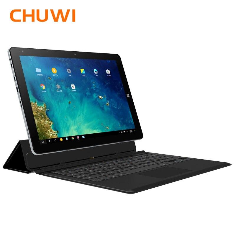 CHUWI Hi10 Plus 10,8 zoll Tablet PC Windows 10 Android 5.1 Intel Atom Z8350 Quad Core 4 gb RAM 64 gb ROM dual Kamera Tabletten
