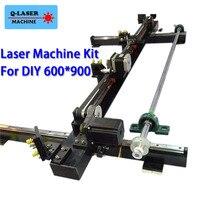 Co2 лазерный запасные части к механическому оборудованию комплект 600 мм * 900 одна голова для DIY 6090 CO2 лазерный станок для гравировки и резки