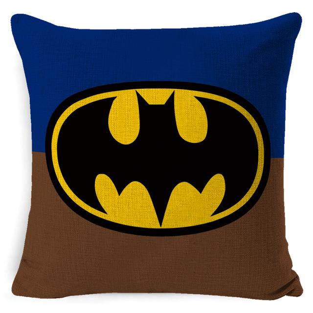 Super Hero Printed Super Soft Cushion Cover