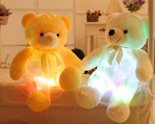 Cute Luminous Bear Shaped Plush Toy