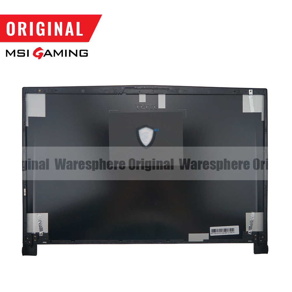 Image 3 - New and Original LCD Back Cover Front Bezel For MSI GS73 GS73VR Rear Lid Case Black 3077B5A213 3077B1A222-in Laptop Bags & Cases from Computer & Office
