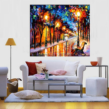 100%Handpainted Abstract Wall Picture Knife Oil Painting On Canvas Thick Oil Painting For Home Decor As Best Gift