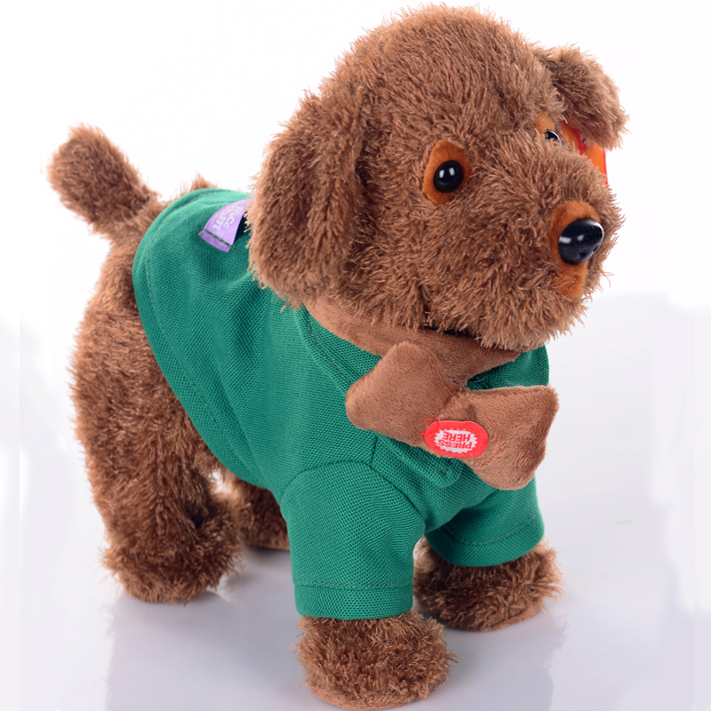 Robot Dog Singing Dancing Walking Musical Husky Electronic Pet Dog Toys For Children Leash Dog Called Electric Dance Music Plush