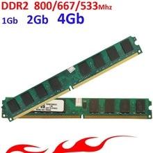 Memoria оперативной памяти ddr2 Для Intel/AMD DDR2 800 667 533-1 ГБ 2 ГБ 4 ГБ/ddr2 RAM-пожизненная гарантия-800 МГц 667 МГц 533 МГц