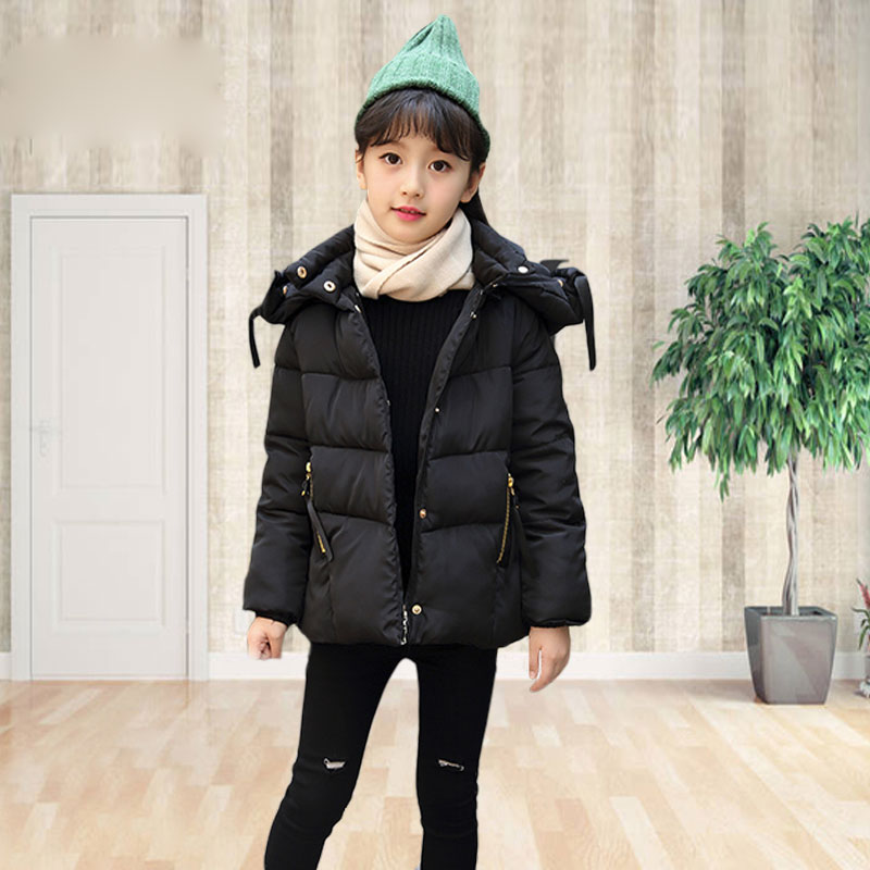 New 2018 Kids Warm Thick Girls Winter Coat Fashion Children's Parkas Cotton Jackets and Coats for Girls Clothing Outdoor Top new arrival winter jacket men fashion brand clothing casual jackets and coats for male warm thick cotton pad men s parkas m 3xl