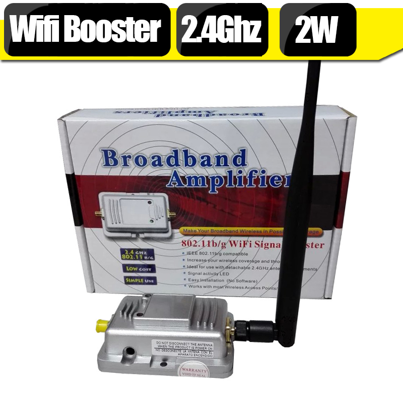 2 4Ghz Wifi Signal Booster 2W 20Mhz 40Mhz 2400mhz 2500mhz 30dBm IEEE Indoor Wifi Signal Repeater