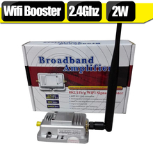 2.4Ghz Wifi Signal Booster 2W 20Mhz&40Mhz 2400mhz~2500mhz 30dBm IEEE Indoor Wifi Signal Repeater Amplifier Antenna Kit For Home