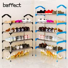 Baffect Shoe Organizer Shoe Rack Adjustable Home Use Asrama Shoe Racks Storage Penyelenggara moden Rack Shoes Stand Shelf
