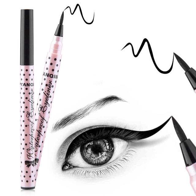 1 PCS Hot Make Up Ultimate Black Liquid Eyeliner Long-lasting Waterproof Eye Liner Pencil Pen Nice Makeup Cosmetic Beauty Tools 3