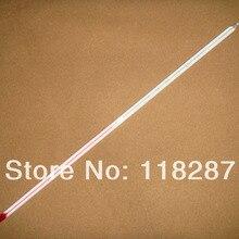 Стеклянный красный жидкостный индикатор термометр 0-200, наружный диаметр 6 мм, лабораторная посуда