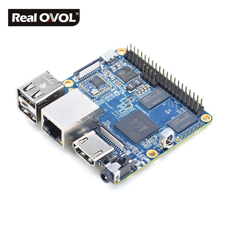 RealQvol Friendlyarm NanoPi A64 開発ボード 64 ビットクアッドコア Cortex A53 1.152 ghz 、ギガバイト 1 DDR3 RAM AXP803 PMU と WiFi  グループ上の パソコン & オフィス からの デモボード の中 2