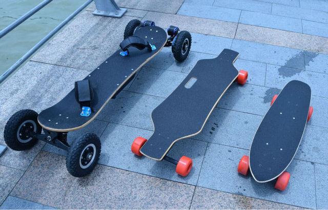 Four  Wheel Electric Skateboard Double Motor Electric Longboard