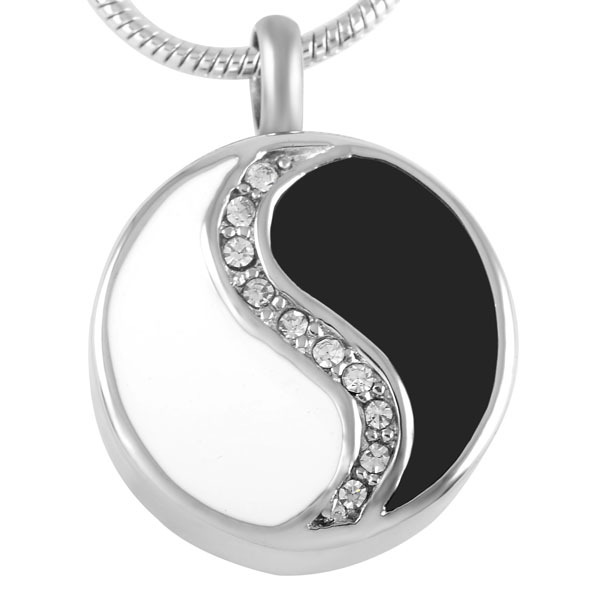 Ying Yang Urn Necklace