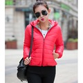 2016 New Short Parkas Female Women Winter Coat Thickening Cotton Winter Jacket Womens Outwear Parkas for Women Winter Outwear