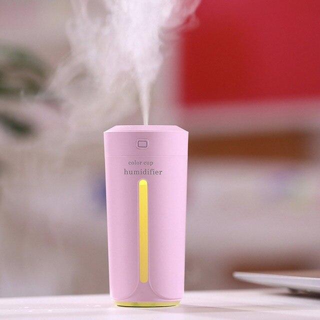 Фото увлажнитель воздуха ультразвуковой со светодиодной подсветкой