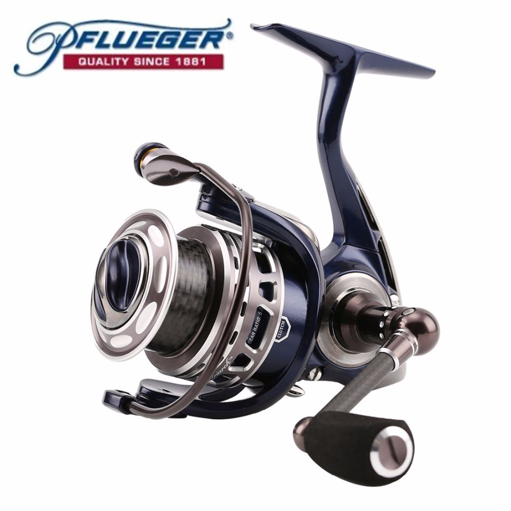 Pflueger PATRIARCH 9525 9530 9535 Spinning Fishing Reel 9 1BB 5 2 1 Anti Corrosion A