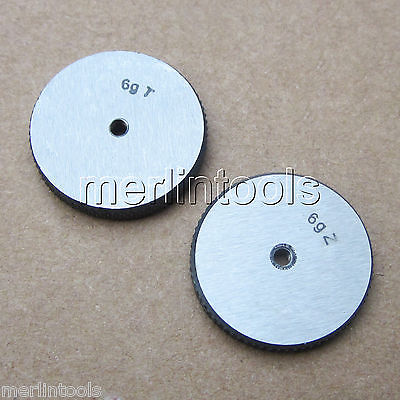 M3 x 0.35 Right hand Thread Ring Gage m21 x 1 right hand thread gauge plug gage