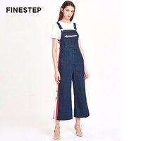 Элегантный Для женщин длинный комбинезон дамы джинсы комбинезоны для Для женщин 2018 Мода Высокое качество комбинезон