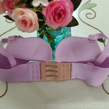 High Quality Stainless Steel Silk Ribbon 3 Rows 3/4 Hooks Bra Extender Elastic Fish Microfiber Style Bra Adjustable Buckles W3(China)