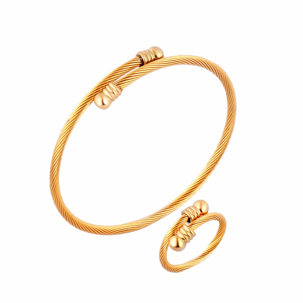 BH 5 STAR 14K 8 Yellow//White//Rose Gold 3.0mm Shiny Textured Round Tube Stackable Bangle rose-gold