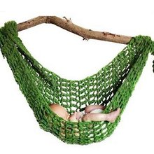 1 Pc High Quality Portable Crochet Baby Hammock Photography Props Knitted Newborn Infant Costume Toddler Photo Decoration Props(China)