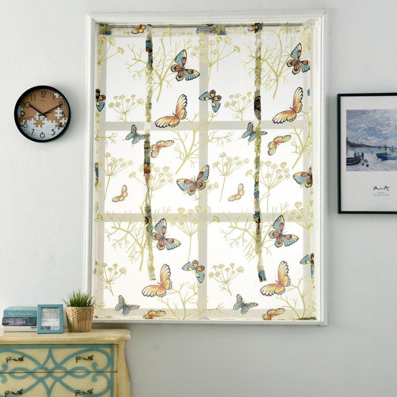Aliexpress.com : Buy Fashion Kitchen Short Sheer Curtains
