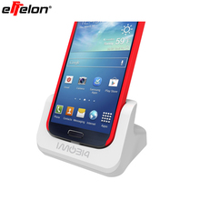 Dual Desktop Charging Cradle, Battery Docking Station, audio out Charger Dock for Samsung Galaxy S4