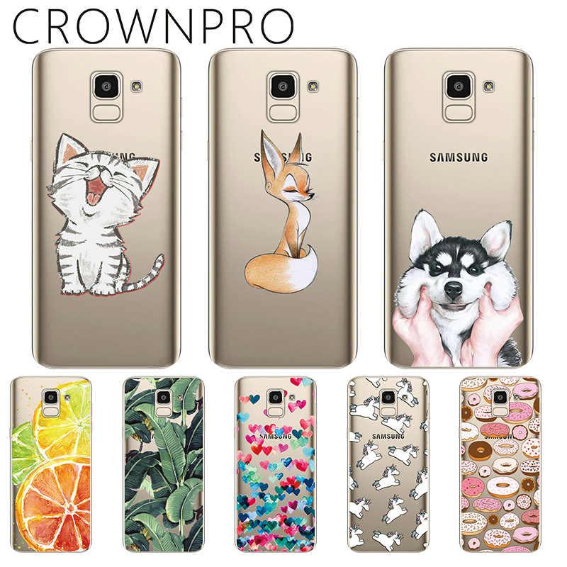 919940ebfd CROWNPRO Phone Case sFOR Samsung Galaxy J6 2018 Cases Silicone J600F J600  TPU A8 Plus 2018