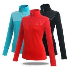 POLO Golf Clothes Korean Costume Lady Golf Zipper Collar Shirt Cotton Autumn Jacket Tennis Long Sleeved Tshirt Female Clothing