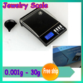 1 pcs New 0.001g 30g Digital Weighing Gem Jewelry Diamond Scale Digital Jewelry Pocket with original pack