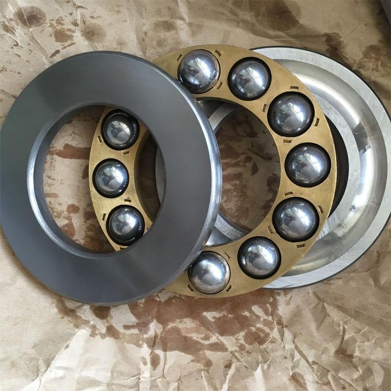 SHLNZB Bearing 51418 51420 51422 51424 51426 51428 51430 M P5 P6 1pcs Thrust Ball Bearings 1pcs 51418 8418 90x190x77 thrust ball bearings axial deep groove ball bearings mochu thrust bearing