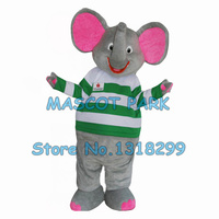 Green Elephant Costume Custom Cartoon Character Cosply Carnival Costume 3043