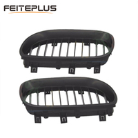 For BMW 5Series E60 E61 520d 520i 523li 525li 530l 2004 2009 Car Front Grille Grills Car Styling Covers Grilles
