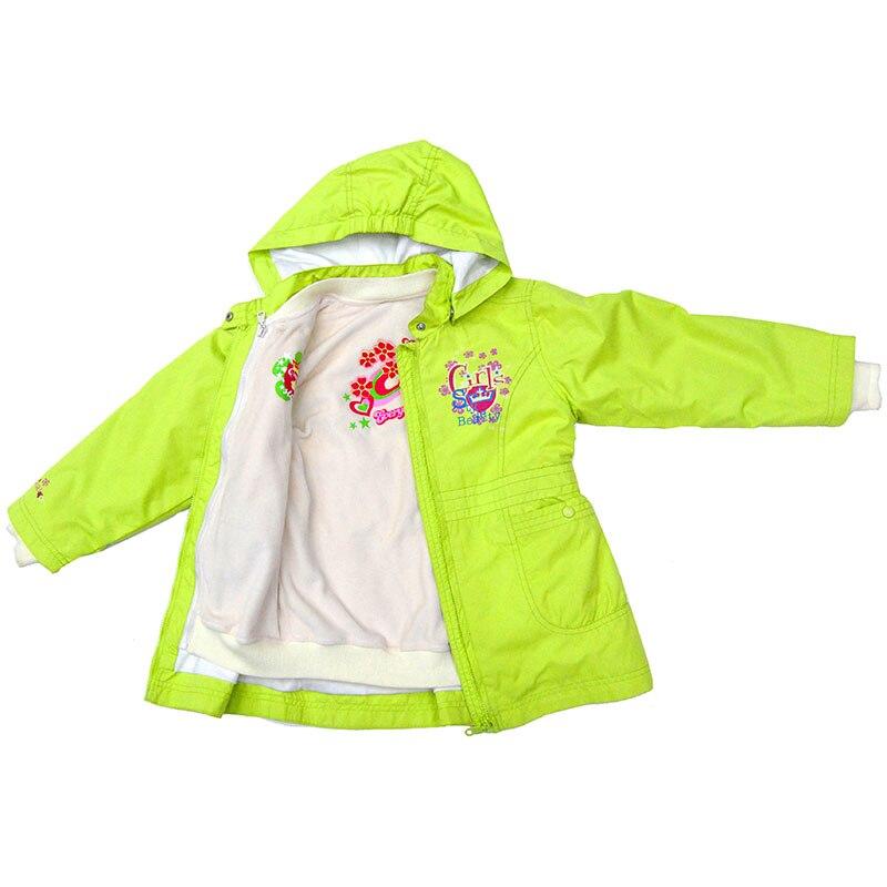 Autumn Girls Jacket Coat Windbreaker blouse 2 in 1 Pink Hoodie Windproof Fabric French Fashion Designer Jackets 1054