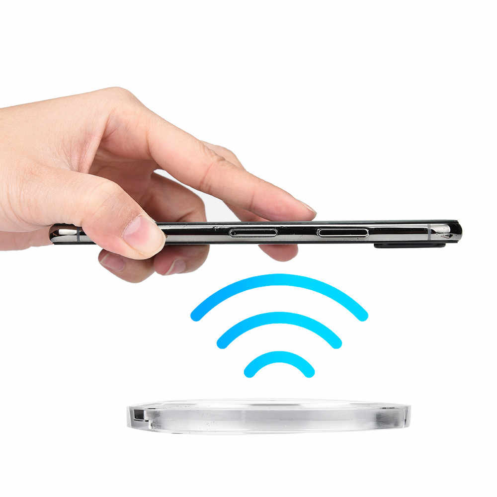 Detail Feedback Questions About Usps Portable Mini Acrylic Qi Aliexpresscom Buy Diy Wireless Charger Circuit Board Pcba With For Pad Mat Iphone 8 Plus
