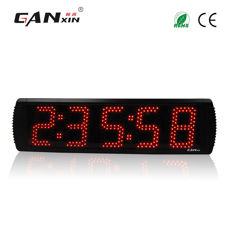 Ganx 5 5 digits Marathon timer clock for outdoor sport games with countdown stopwatch function
