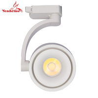 Exhibition Hall LED Track Light 12W 20W COB Ceiling Rail lights For Pendant Kitchen Clothes Shop Shoes Store Lamp LED Lighting