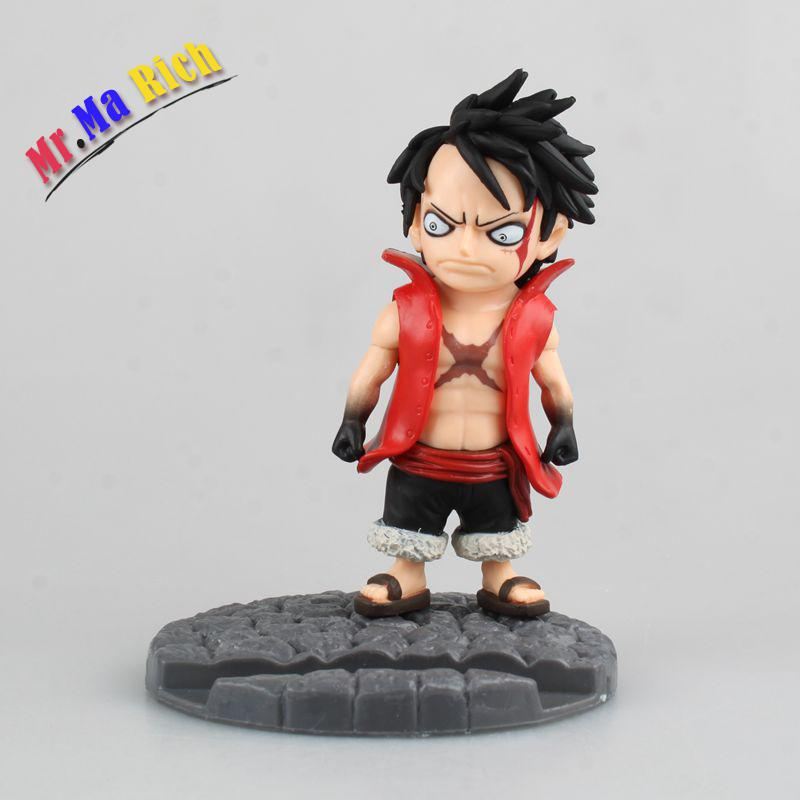 Anime One Piece Q Luffy Ver. Mobile Phone Holder Pvc Action Figure Brinquedos Figuras Anime Collectible Kids Toys