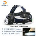 3000 lumens CREE XM-L T6 led headlamp lamp linternas frontales head lamp headlight