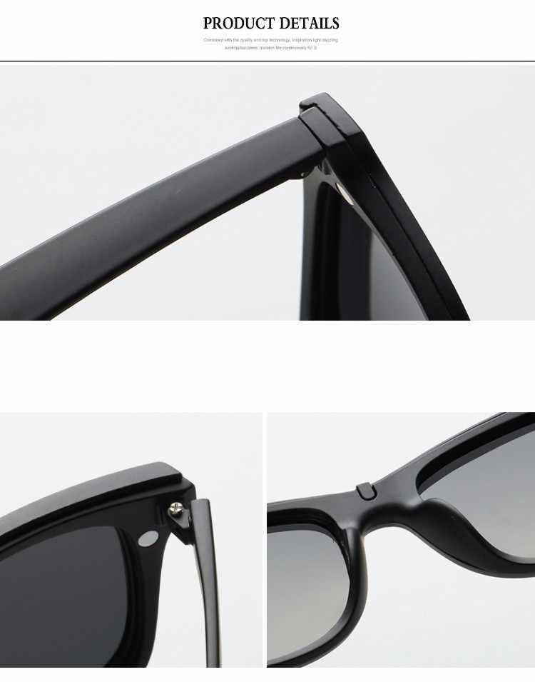 Optical Spectacle Frame Women Men With 5 Clip On Sunglasses Polarized Magnetic Glasses For female Myopia Eyeglasses