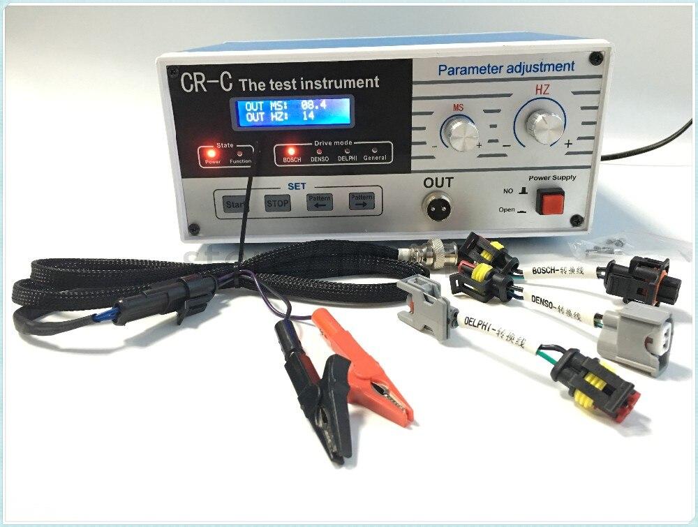 Instrument d'essai d'outil de testeur d'injecteur de rail commun diesel multifonctionnel de CR-C