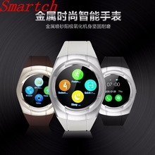 Smartch Smart Watch T60 Round Sim Card Sport Fitness Bluetooth Smartwathes WhatsApp Facebook For Android phone pk dz09 Y1 watch